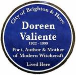 Doreen Valiente blue plaque