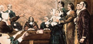 Court proceedings in Salem, Mass.