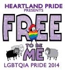 Heartland Pride 2014 logo
